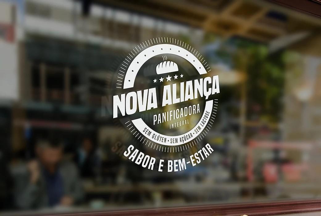 Logo Nova Aliança Panificadora